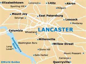 map of lancaster lancaster travel guide and tourist information lancaster
