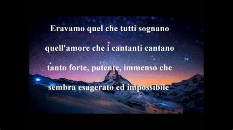 testo canzone l universo tranne noi max pezzali l universo tranne noi testo