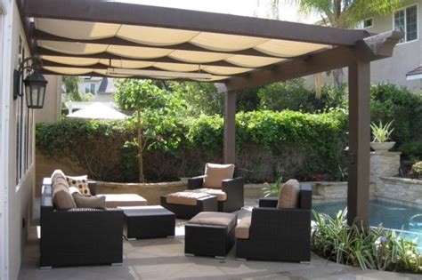 pergola with fabric pergola gazebo ideas