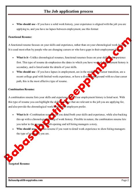 Procedure Of Mba After M by Notes Managerial Communication Mod 4 The Application