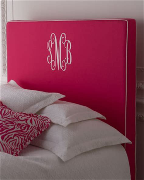 Monogrammed Headboards by Furniture Gt Bedroom Furniture Gt Headboard Gt