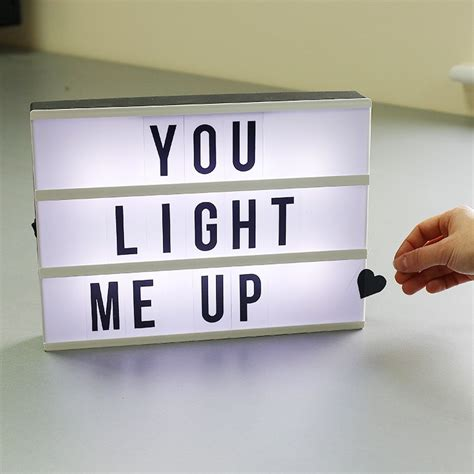 Light Up Message Box Temptation Gifts Light Up Boxes
