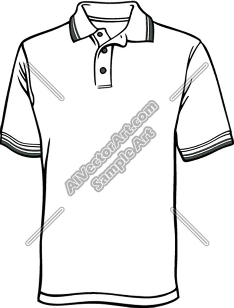 Kaos T Shirt Breakfes Included 1 s polo shirt clipart and vectorart apparel product