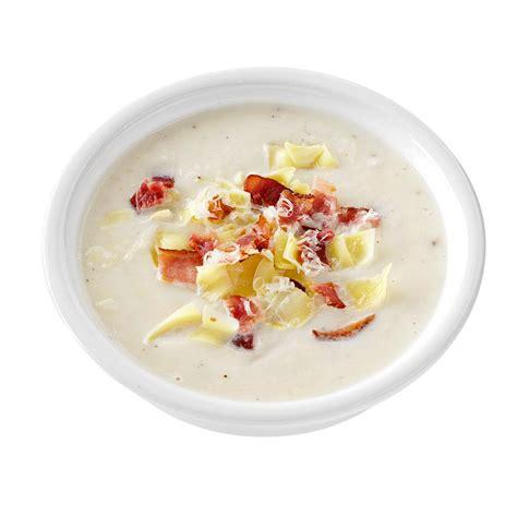 artichoke bacon cauliflower soup recipe taste of home