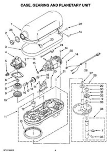 kitchenaid stand mixer parts diagram kitchenaid mixer parts diagram kitchen design photos