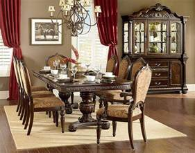 traditional cherry dining room set cleopatra ornate traditional cherry formal dining room