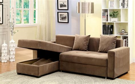 Brown Fabric Sectional Sofa Contemporary Style Brown Fabric Sectional Sofa