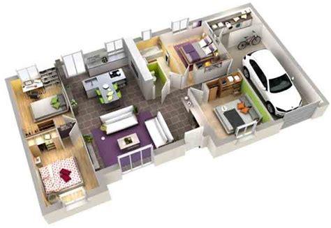 denah  desain rumah minimalis  kamar tidur  lantai