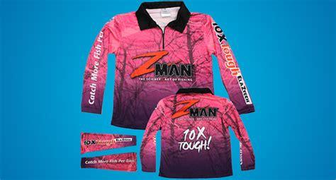 Afta Apparel T Shirt zman pink fishing shirt tackle junkietackle junkie