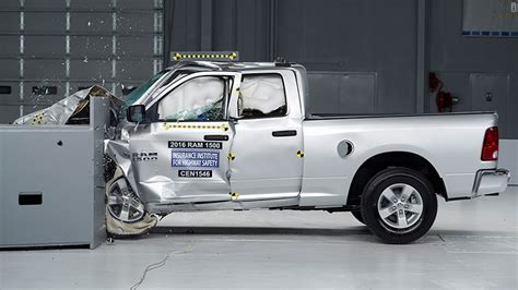 truck crashing ford f 150 comes top in key crash test ram trucks worst