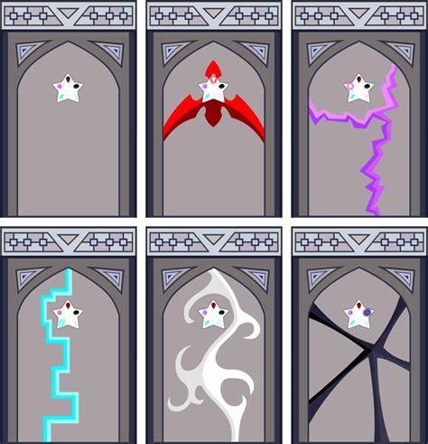 The Oc House Floor Plan spooky crystal gem temple doors by xelku9 on deviantart