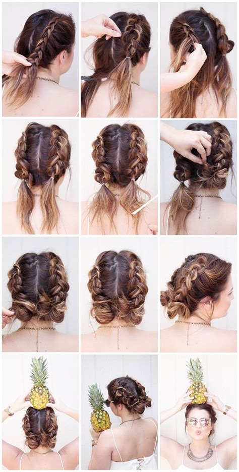 cool braids steps 28 ridiculously cool double bun hairstyles you need to try