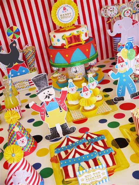 printable circus party decorations 25 of the best birthday party themes for kids 5 and