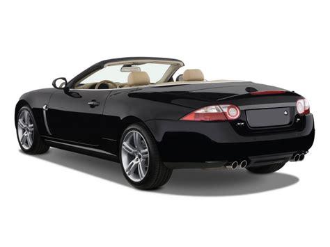 jaguar 2 door convertible image 2009 jaguar xk 2 door convertible xkr angular rear