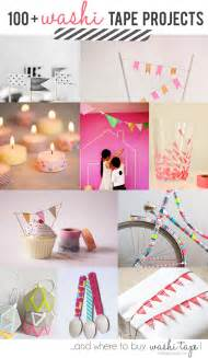 diy washi 100 washi tapes project ideas and where to buy washi
