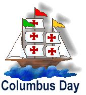 columbus day holiday clipart