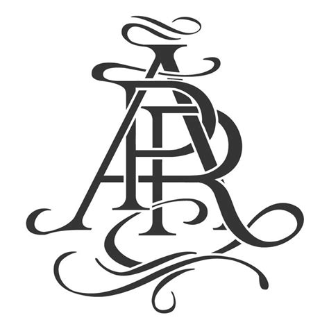 monogram tattoo designs intertwined and gorgeous just like the original designs