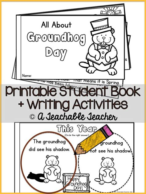 groundhog day kindergarten groundhog day kindergarten activities 28 images