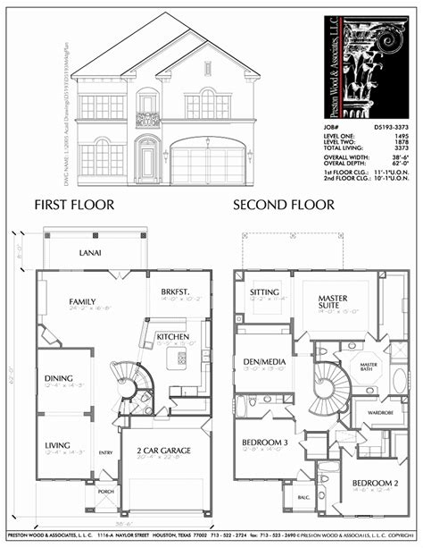 Best Two Storey House Plans by Story House Plans Luxury Two Housesapartments On Story