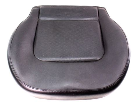 genuine leather chair pads front seat cushion 98 05 vw beetle black leather cover