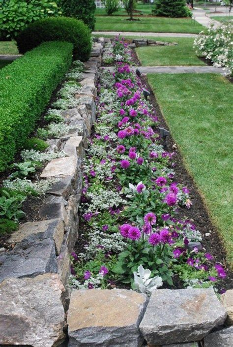 flower bed rocks 722 best images about landscaping rocks and stones on
