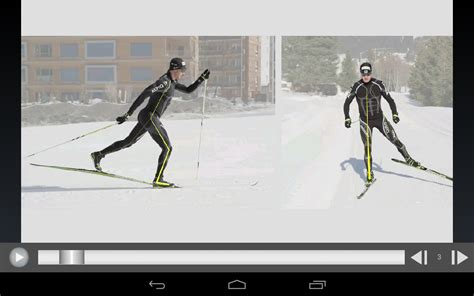 cross country ski styles cross country skiing technique android apps on play