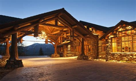 luxury cabin homes breathtaking biggest luxury log home pictures designs