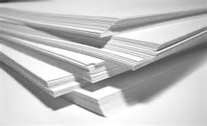 le aus papier drukwerkmax hoeveel weegt een vel papier