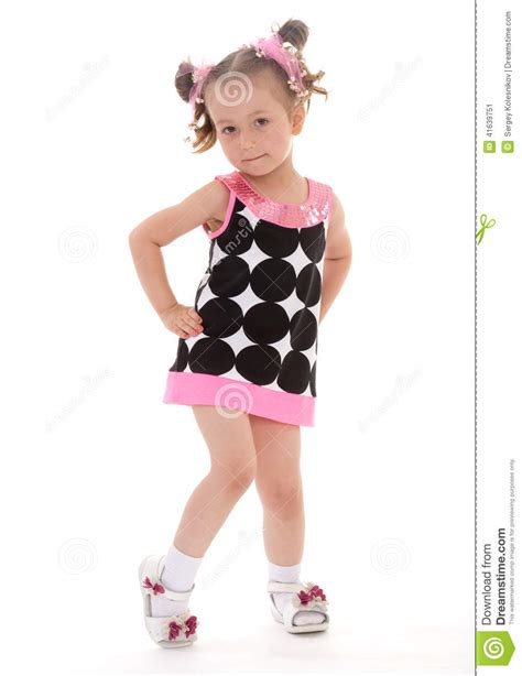 young girl short dress stock photos images pictures charming little girl in a short dress stock image image