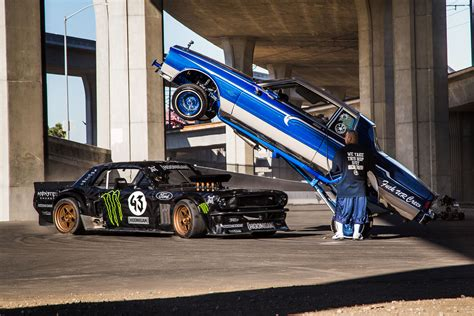 hoonigan truck official ken block gymkhana 7 video rod network