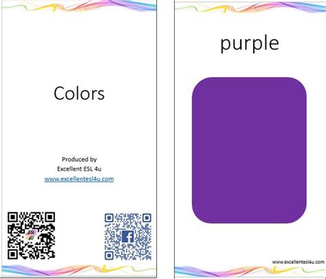 color vocabulary esl color vocabulary