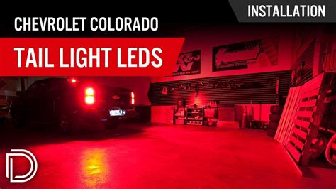 2016 chevy silverado tail light covers how to install chevrolet colorado tail light leds youtube