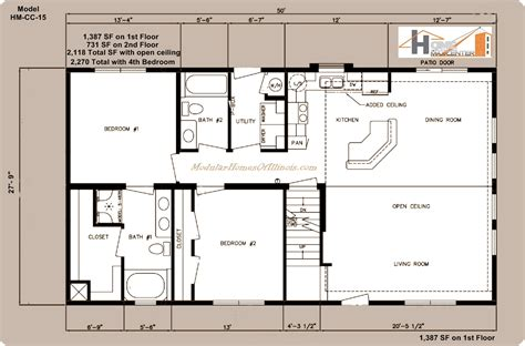 Cape Cod Blueprints | c124721 2 by hallmark homes cape cod floorplan cape cod