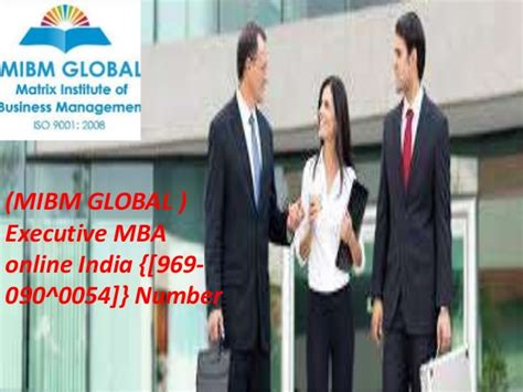 Easy Mba by Get Easy Executive Mba India Call 969 090 0054