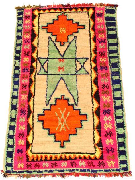 Moroccan Kilim Rugs by Kilim Moroccan Berber Rug Azilal 195 X 120 Cm