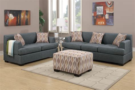 Living Room Fabric Sofas Blue Living Room Set Home Design Ideas