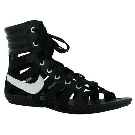 white nike sandals for nike gladiateur womens gladiator sandals black white