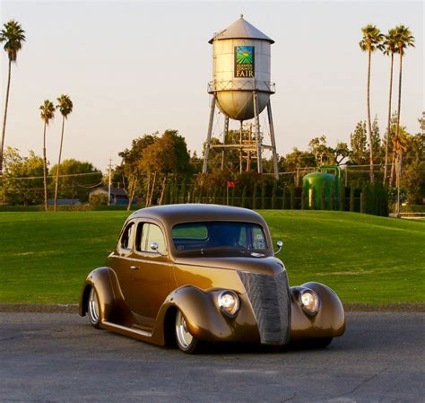 Build A 2 Car Garage Dan Wathor S 1937 Ford Wins Most Beautiful Street Rod