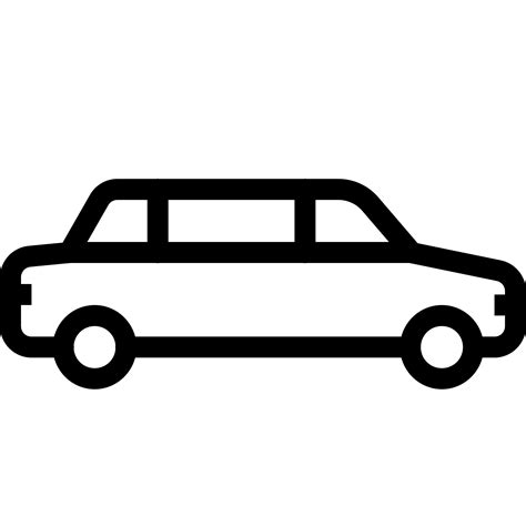 Car Icons by Limousine Car Icon Free At Icons8
