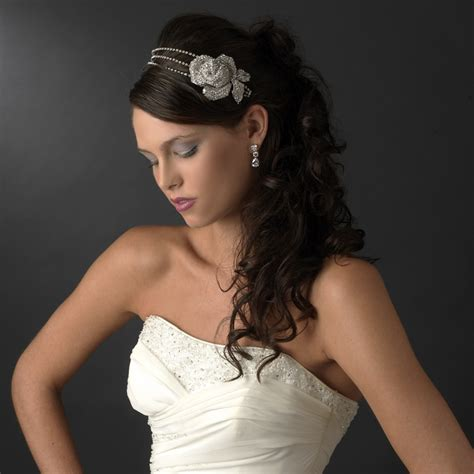 Wedding Hairstyles With Headbands And Veils by Top 2013 Trends For Bridal Hair Accessories