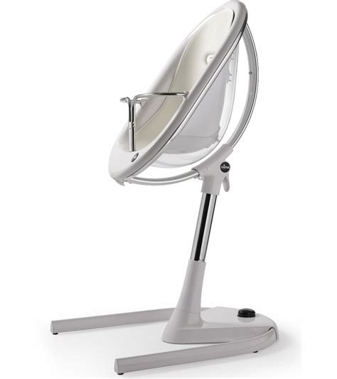 Mima Moon High Chair by Mima Moon 3 In 1 High Chair White