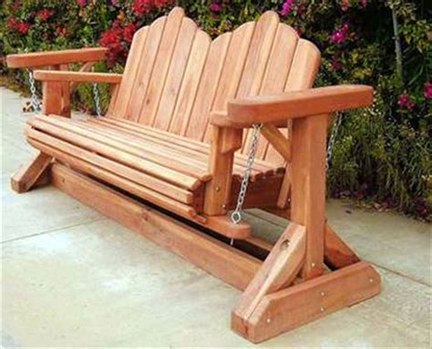 plans glider rocker bench plans  woodwork