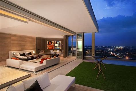 Living Room Nightclub Cape Town Luxury Penthouse In Johannesburg