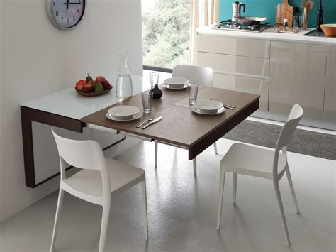 tavolo da parete tavolo a muro allungabile da cucina fortune ideas