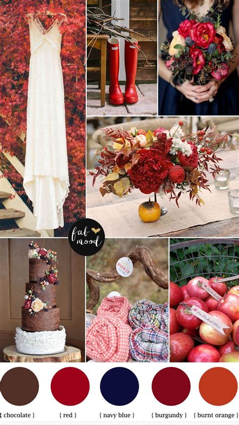 orange wedding colors wedding inspiration fall color schemes jab蛯kowe