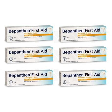 tattoo aftercare antiseptic cream bepanthen first aid antiseptic wound healing cream 6 x 30