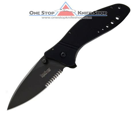 kershaw flip knife quot discontinued kershaw 1630blkst cyclone black blade