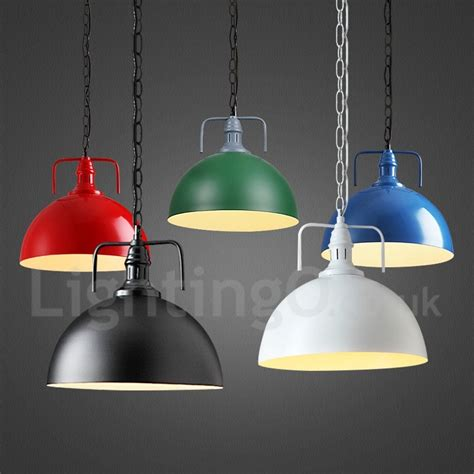 pendant light for dining room vintage multi colors metal pendant light for dining room