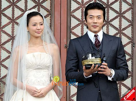 Got Married Cho Park Ha kwon sang woo and tae s wedding day