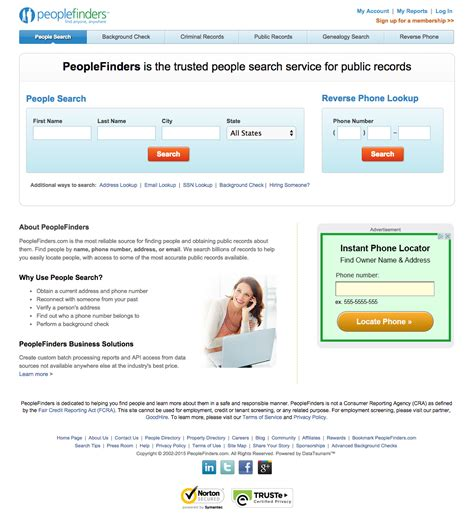 Peoples Finders Top 20 Complaints And Reviews About Peoplefinders